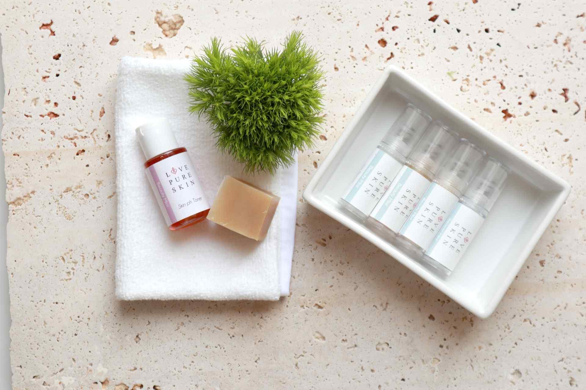 LOVE PURE SKIN Beauty Mini-Set 1 für fettige unreine Haut